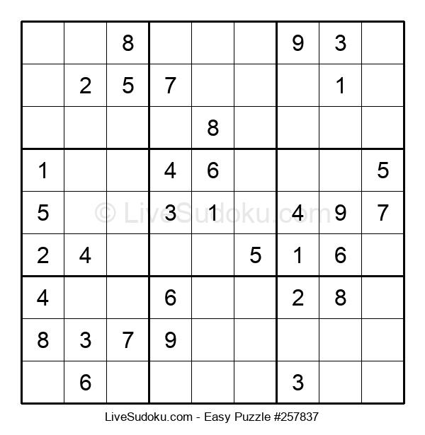 Beginners Puzzle #257837
