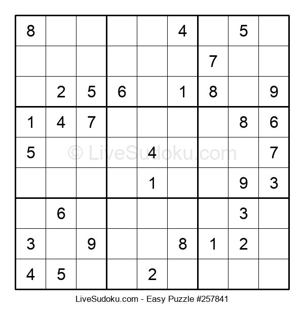 Beginners Puzzle #257841