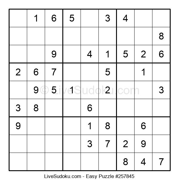 Beginners Puzzle #257845