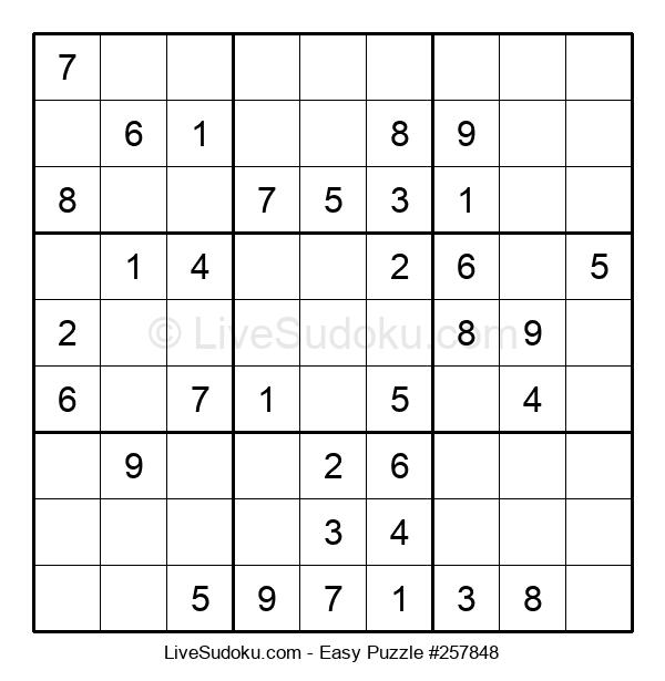 Beginners Puzzle #257848