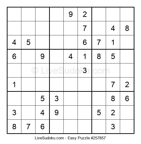 Beginners Puzzle #257857