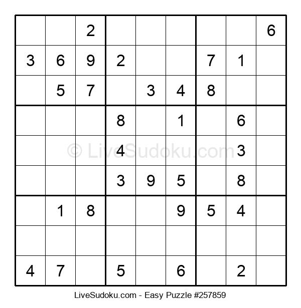 Beginners Puzzle #257859