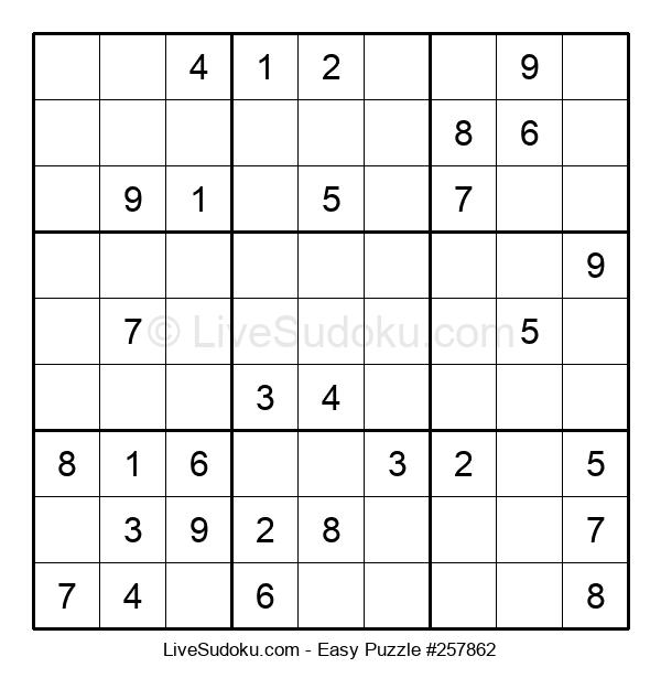 Beginners Puzzle #257862