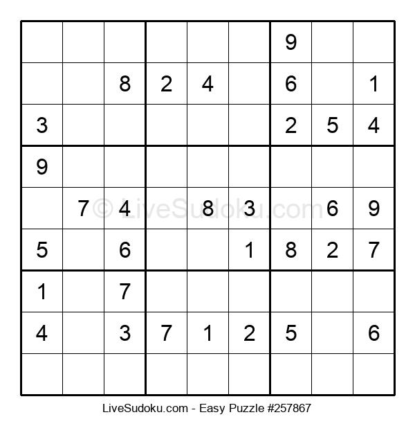 Beginners Puzzle #257867