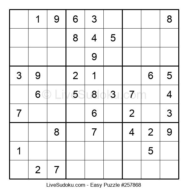 Beginners Puzzle #257868
