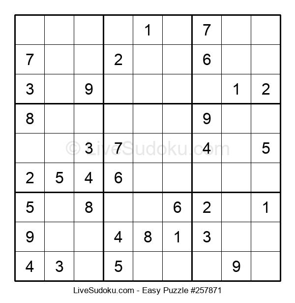 Beginners Puzzle #257871