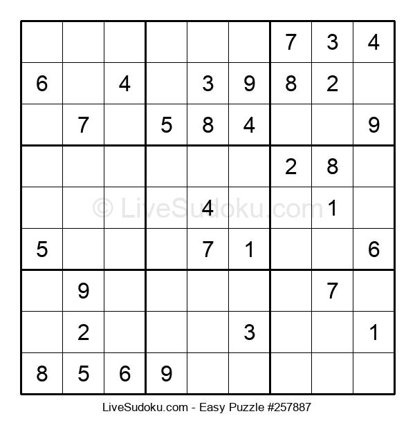 Beginners Puzzle #257887