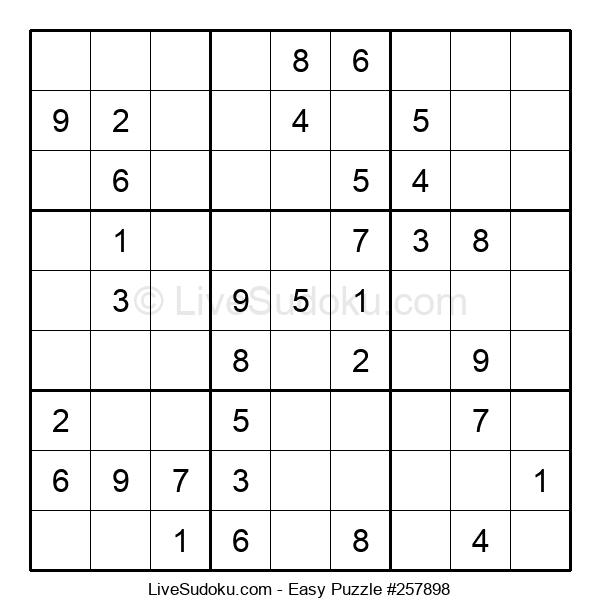 Beginners Puzzle #257898