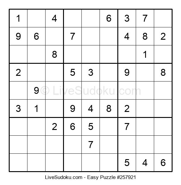 Beginners Puzzle #257921