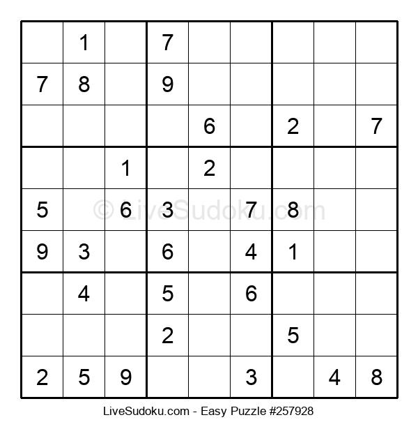 Beginners Puzzle #257928