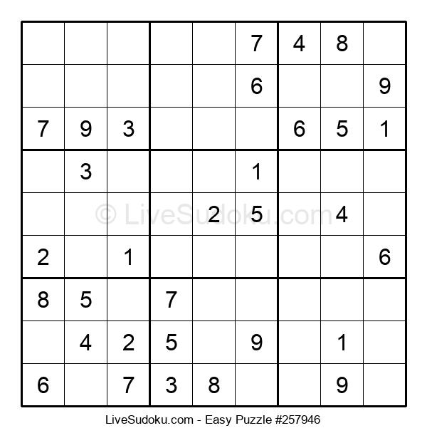 Beginners Puzzle #257946