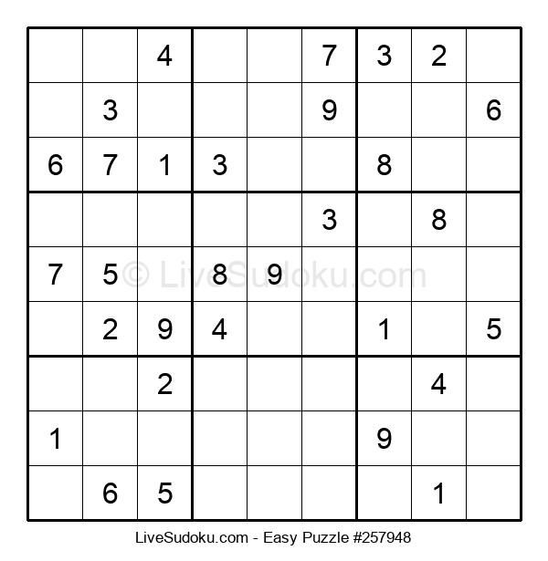 Beginners Puzzle #257948