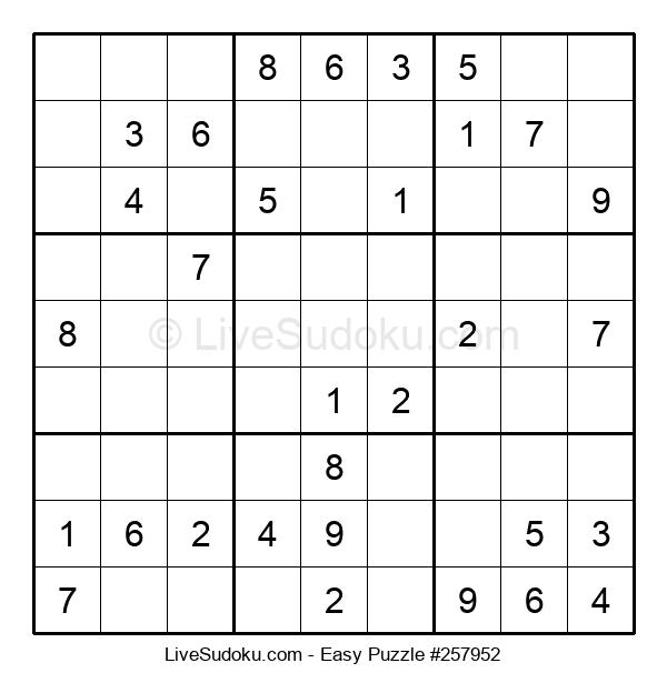 Beginners Puzzle #257952