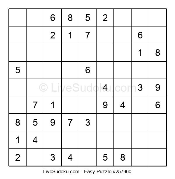 Beginners Puzzle #257960