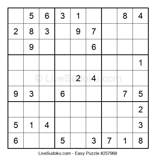 Beginners Puzzle #257968