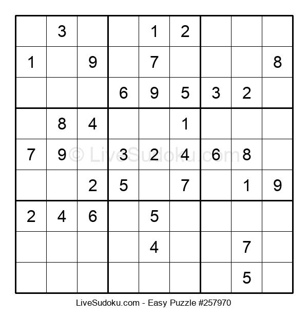 Beginners Puzzle #257970