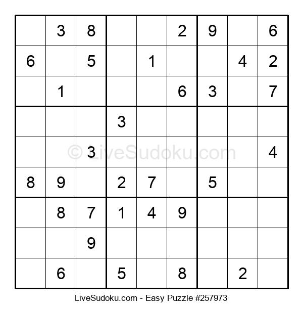 Beginners Puzzle #257973
