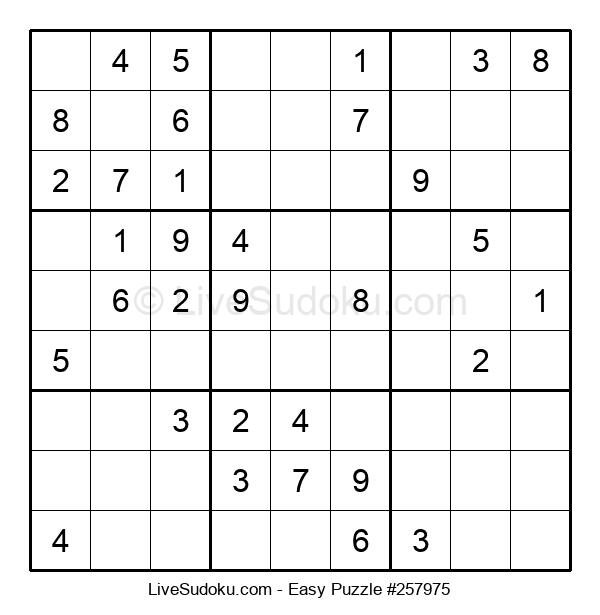 Beginners Puzzle #257975