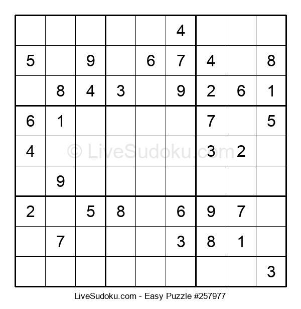 Beginners Puzzle #257977