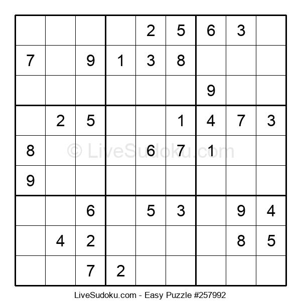 Beginners Puzzle #257992
