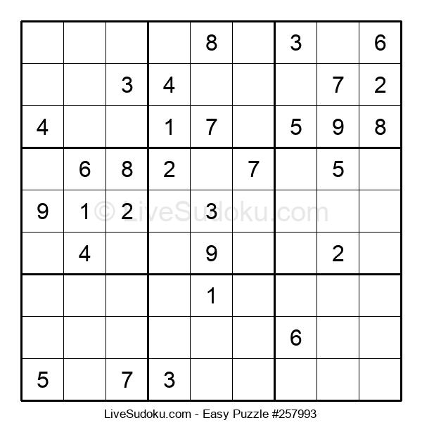 Beginners Puzzle #257993