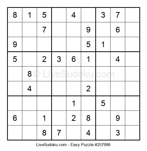 Beginners Puzzle #257998