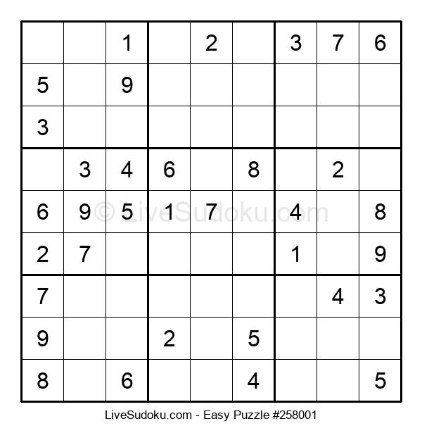 Beginners Puzzle #258001
