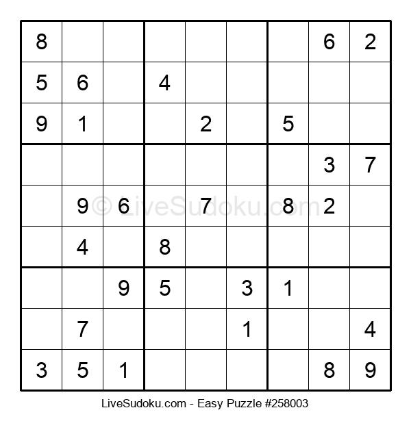 Beginners Puzzle #258003