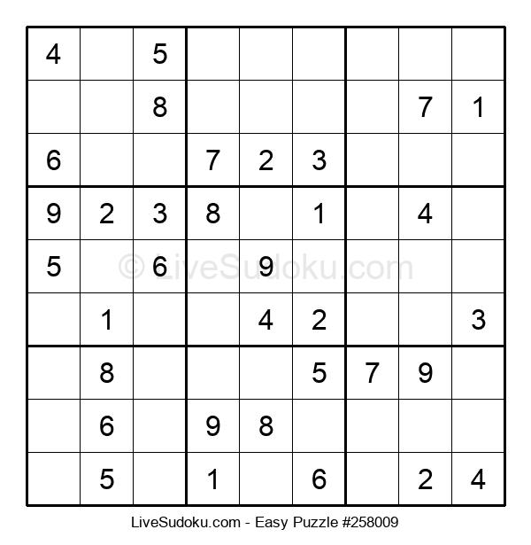 Beginners Puzzle #258009