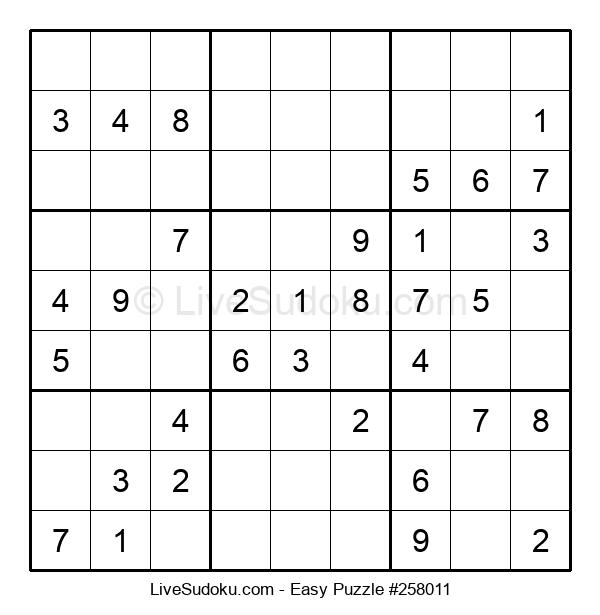 Beginners Puzzle #258011