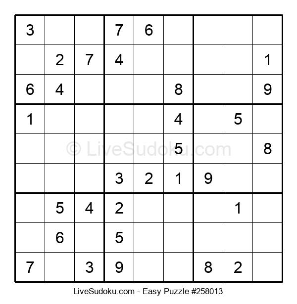 Beginners Puzzle #258013