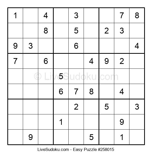 Beginners Puzzle #258015