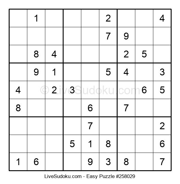 Beginners Puzzle #258029