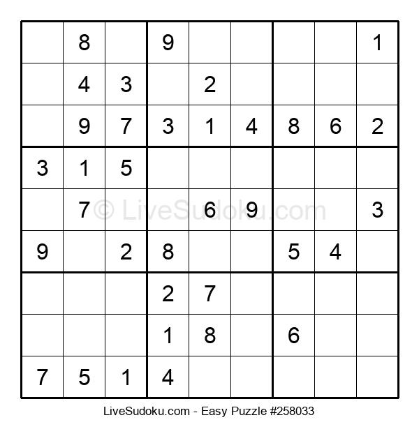 Beginners Puzzle #258033