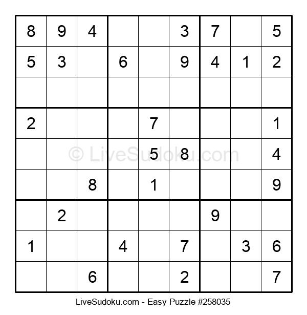 Beginners Puzzle #258035