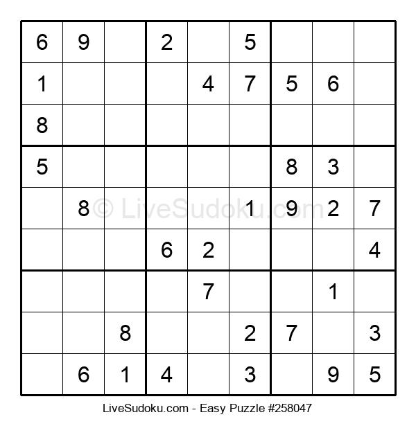 Beginners Puzzle #258047