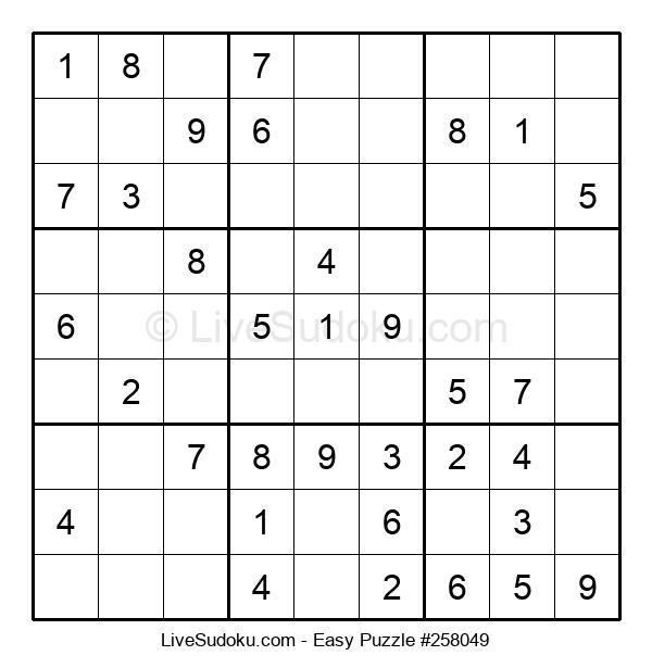 Beginners Puzzle #258049