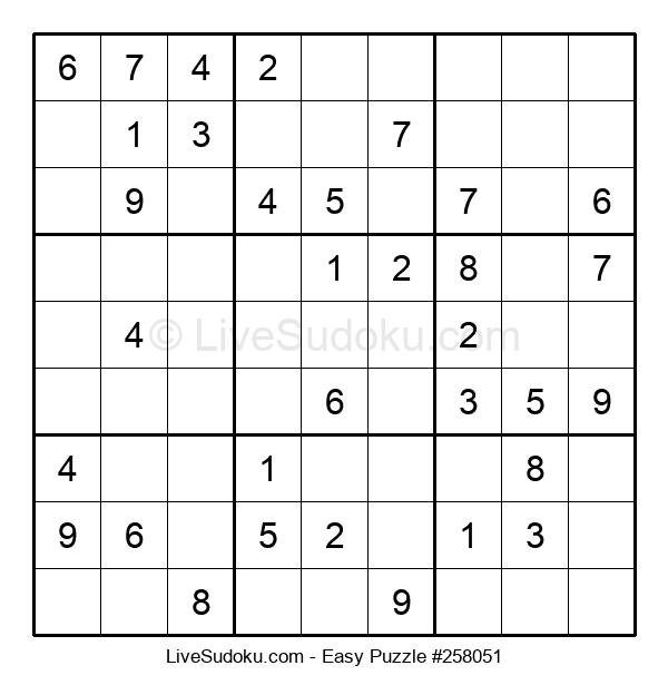 Beginners Puzzle #258051