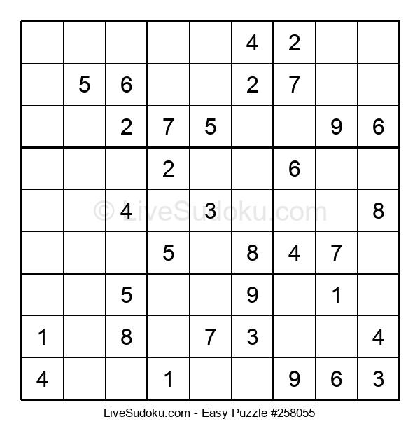 Beginners Puzzle #258055