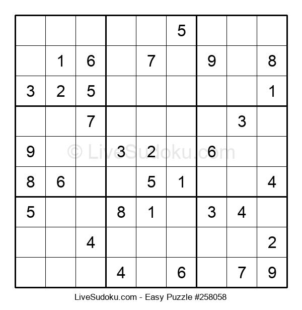 Beginners Puzzle #258058