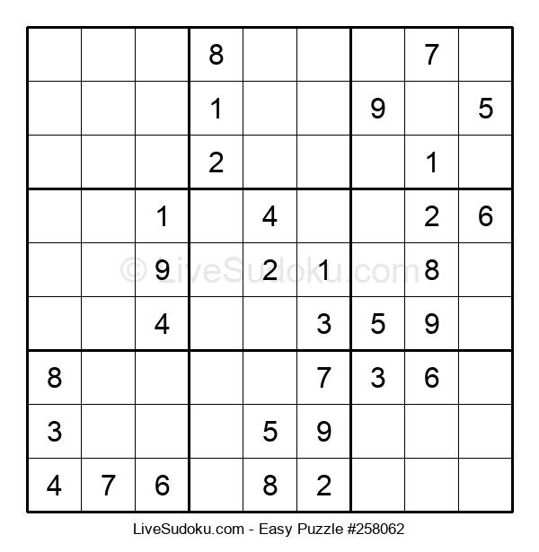 Beginners Puzzle #258062