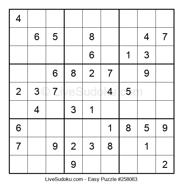 Beginners Puzzle #258063
