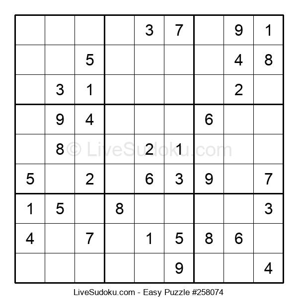 Beginners Puzzle #258074