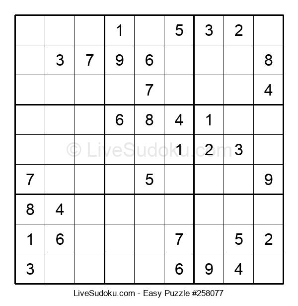 Beginners Puzzle #258077