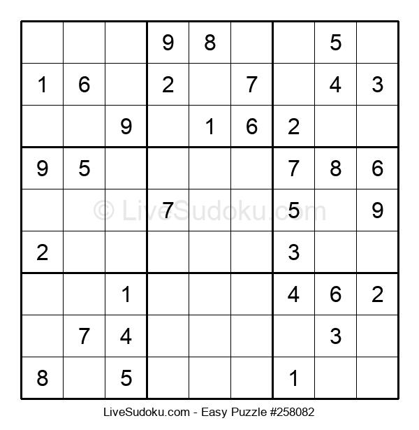Beginners Puzzle #258082