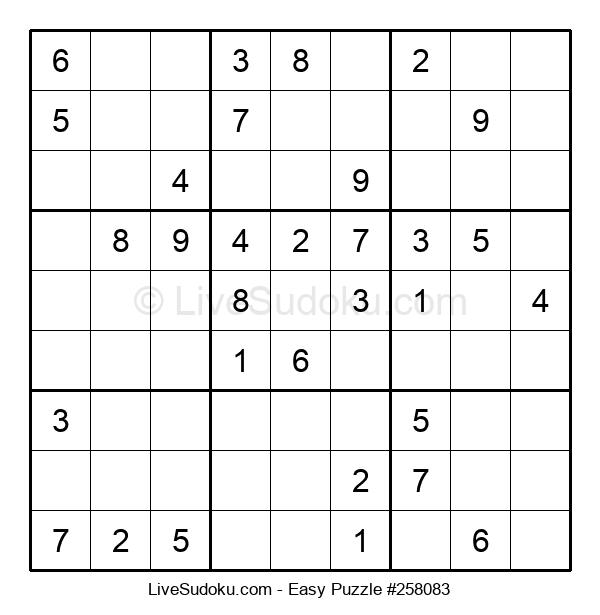 Beginners Puzzle #258083