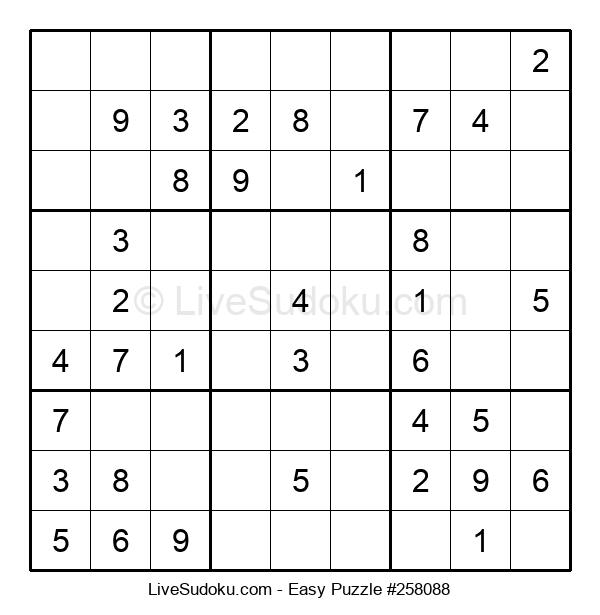 Beginners Puzzle #258088