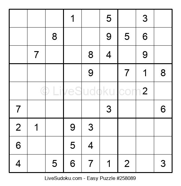 Beginners Puzzle #258089