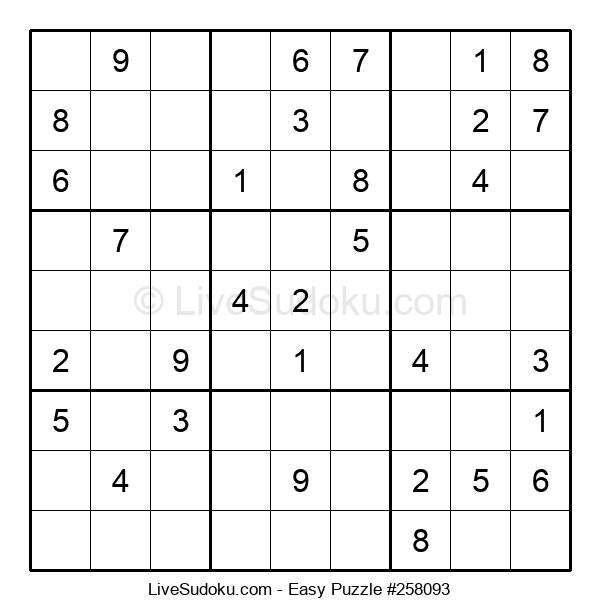 Beginners Puzzle #258093