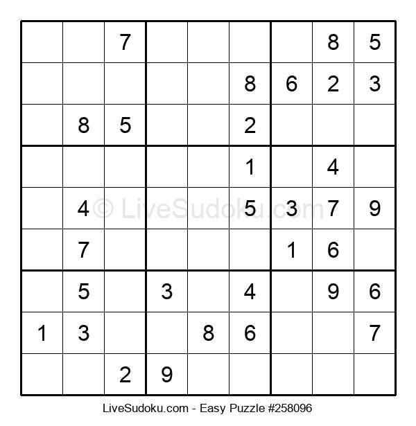 Beginners Puzzle #258096